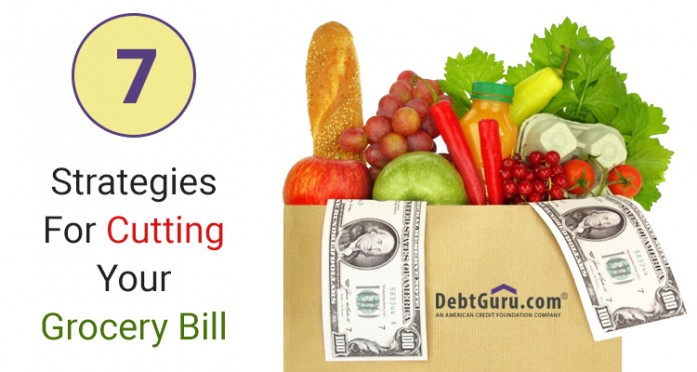 7 Strategies for cutting grocery bills