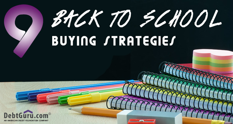 Tips for Buying Back to School Supplies