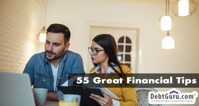55 great financial tips