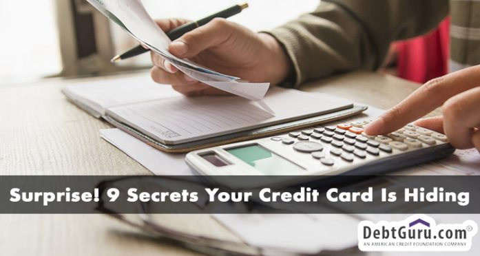 9 secrets your credit card is hiding