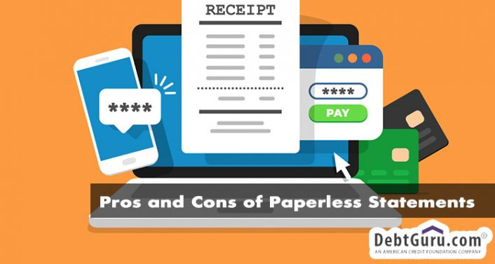 Pros and Cons of Paperless Statements